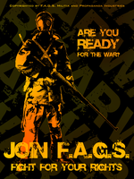 F.A.G.S. Propaganda Poster 2 by Some-Asian-Guy