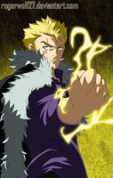 Laxus Dreyar - Fairy Tail 357 by rogerwolf27
