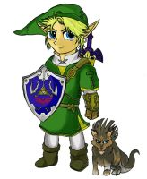 Twilight Princess Link by daunted