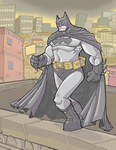Batman in Full-Color by davidstonecipher