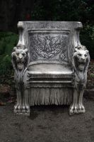 Lion's Throne by TOTGStock