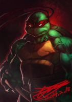 speed painting 01 raph by HeeWonLee