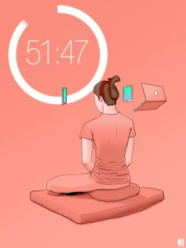Meditation And Tech by neoknocker
