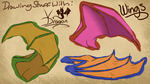 DSW VDragon- Episode 6-How To Draw Wings by VDragon-Creations