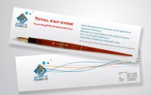 Invitation Card Total EP Syrie by i4dez