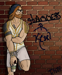 Hipster Thor ~Coloring Page~ by Silverfoxxe