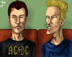 Beavis and Butthead by oberst444