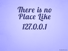 No Place Like Home Wallpaper by creativecircle