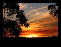Australian Sunset by eswanson