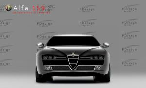 Alfa 159 Front by FalconXp