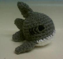 Shark Amigurumi by DistantVisions