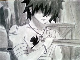 Fairy tail Ep 14 -  Gray Fullbuster by JasonDeBeginner