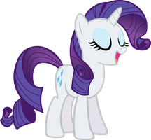 Rarity Talking? by littleponyforever