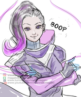 Sombra WIP by magato98
