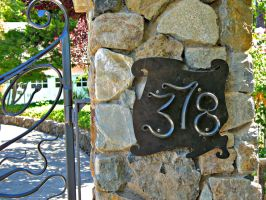 Numbers for the Guimard Gate by ou8nrtist2