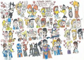 My Favorite Characters: Valentine's Day part 1 by FelixToonimeFanX360