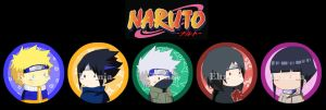 Badges Naruto by eltania