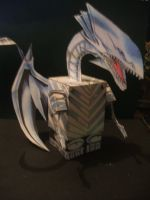 Blue eyes white dragon cube by Allhallowseve31
