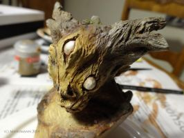Forest Creature: work in progress by Manumann
