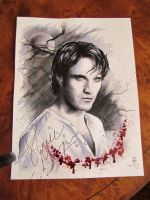 My portrait signed by Stephen Moyer. by AnimaEterna