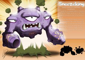 Sneezeking- Weezing fan evolution concept by xXLightsourceXx