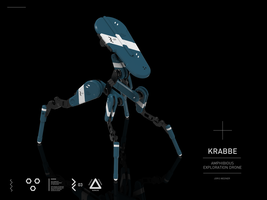KRABBE | Amphibious Exploration Drone by M-Vitzh