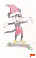 Mickey Mouse by Dawnfire2025