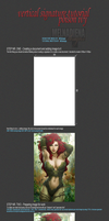 [PHOTOSHOP SIGNATURE TUTORIAL] Posioned Ivy by last-samarian