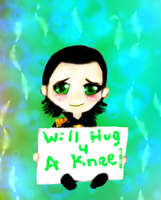 Loki- A hug 4 a kneel by BlueNightGiGi