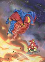 Red Tornado Mr Miracle v1 by Chadwick-J-Coleman
