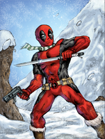 Deadpool Colors by damzo