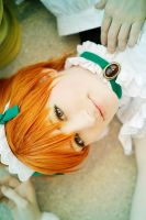 Love Live - Green Eyes by aco-rea