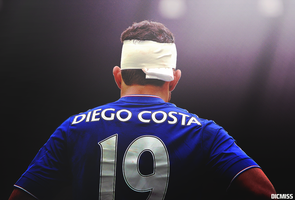 Diego Costa by Dicmiss