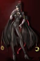 Bayonetta by petal-elf