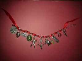 The Walking Dead Bracelet by Canvas Warriors by redpsycho7