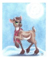 Christmas card number 1 2015 by ArtsyMM