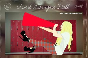 Avril Lavigne - Here's To Never Growing Up Doll by AbbeyDenith