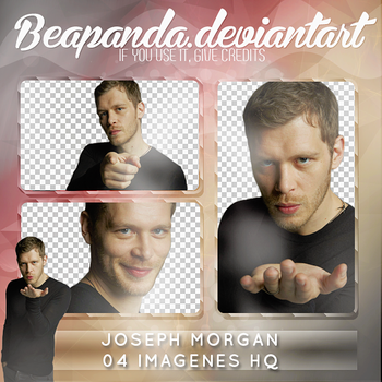 Pack Png 081 - Joseph Morgan by BEAPANDA