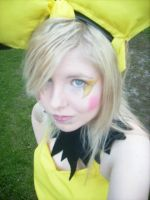 Cosplay Pokemon - Pichu makeup by LittleMissAnesthetic