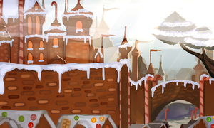 The GingerBread Kingdom by GingerQuin