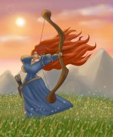 Merida's New Bow by Grimmtoof