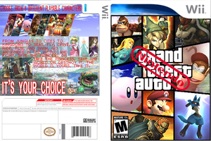 GTA nintendo wrap around by strovecos