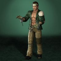 Dead Or Alive 5 Ultimate Bayman Halloween by ArmachamCorp