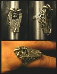 Coffin signet ring by simoniculus