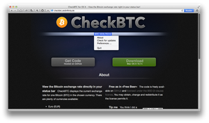 CheckBTC website by xCrAcx