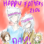 Happy (Late) Fathers Day! - OCs by princess-altaria