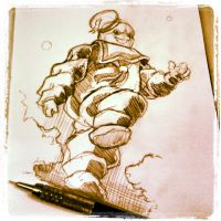The Stay Puft Marshmallow Man by rubenslima