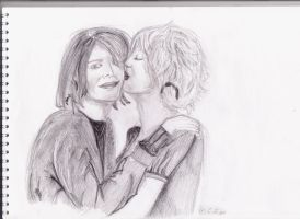 Kurt and Courtney by LuciLoveRock