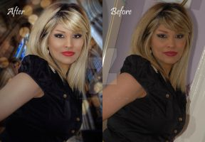 Photo Retouch - Me by shiny-shadows-Art