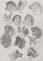 Sketches for people by FreeLikeABird